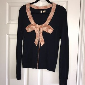 ANTHROPOLOGY BOWTIE SWEATER